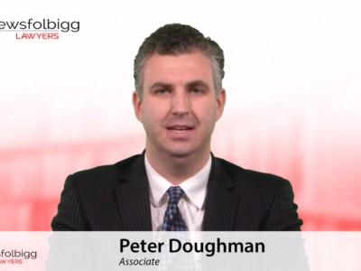 Peter Doughman: Conducting Workplace Investigations - Why, When & How